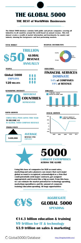 Infographic Global 5000 Database
